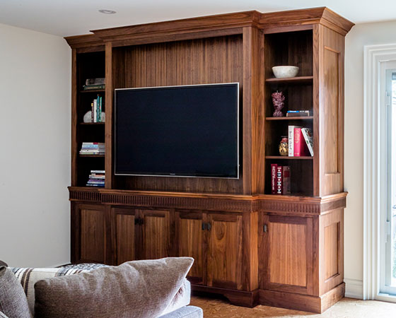 Burlington Basement Custom Built-in Cabinets