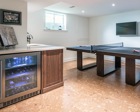 Custom Basement Renovations Burlington, Hamilton