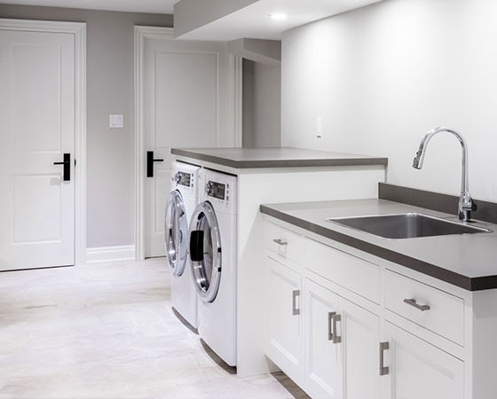 Laundry Rooms, Burlington & Oakville