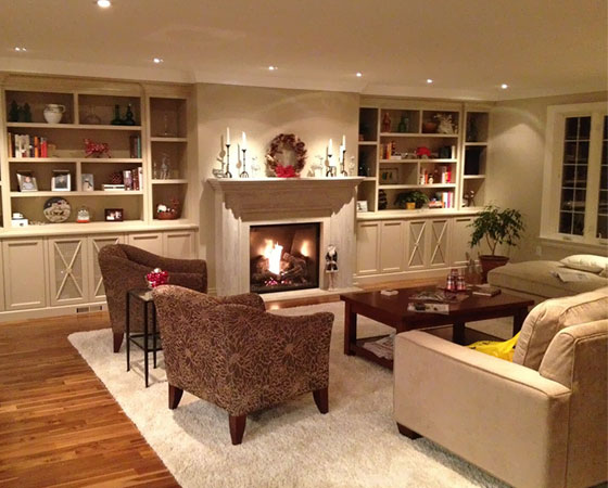 Open Concept Kitchen & Family Room Renovation