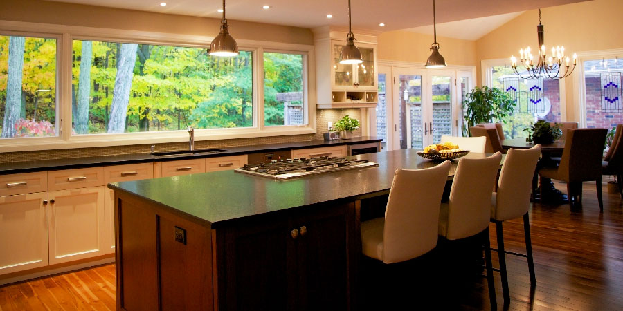 Open Concept Kitchen Renovation Ontario