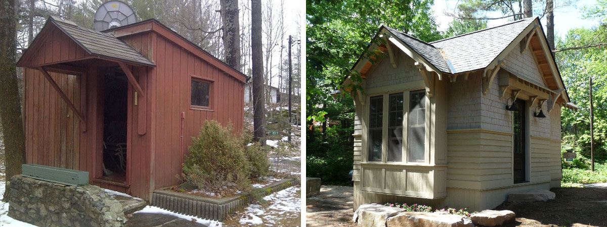 Cottage Cabana & Sleeping Cabin Rebuild, TJC Construction, Burlington & Oakville