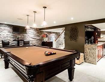 Basements & Rec Rooms