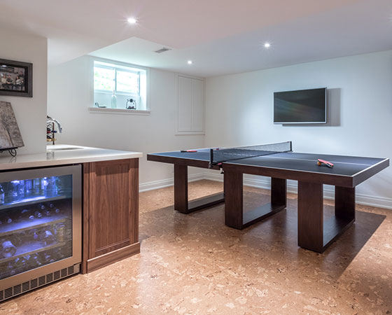 Luxury Basement Renovation, Burlington, Ontario