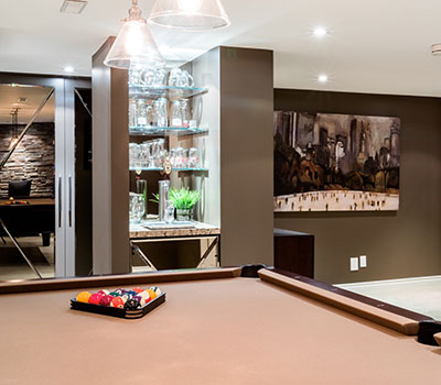 Custom Basement Renovations